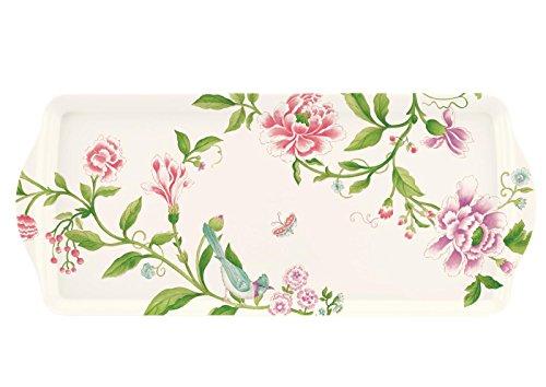 Sanderson Porzellan Garden von Pimpernel Sandwich-Tablett aus Melamin, mehrfarbig -