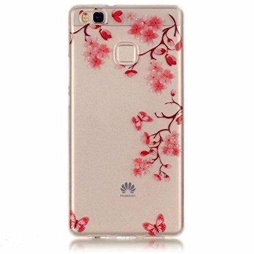JINCHANGWU Huawei P9LITE Handyhülle Hülle Telefon-Kasten aus weichem TPU Handytasche mit...