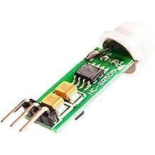 SODIAL(R) HC-SR505 Mini Infrared PIR Motion Sensor Precise Infrared Detector Module for Arduino EK1716