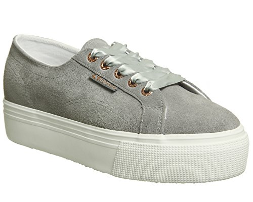 Superga 2790 Cotw Linea Up and Down, Sneakers Basses femme Wild Dove Suede Exclusive