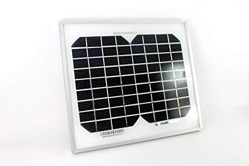 20 años de garantía de potencia limitada Este  panel solar monocristalino 5W monocristalino  de PK Green es ideal para:  - Vertederos, caravanas, barcos  - Generador de corriente continua para fuentes solares  - > - Carga de baterías de 12V   Sien...
