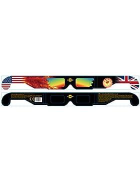 Eclipse Solar gafas - solsticio x 5 pares de gafas