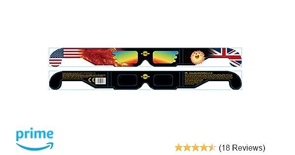 21f9b43fe8f Solar Eclipse Glasses -Solstice Glasses - x 10 Pairs  Amazon.co.uk  DIY    Tools
