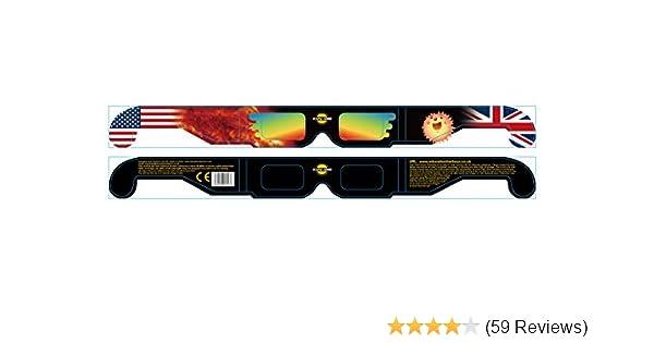 f9ab201db92 Solar Eclipse Glasses -Sun Shades x 5 pairs  Amazon.co.uk  Sports   Outdoors