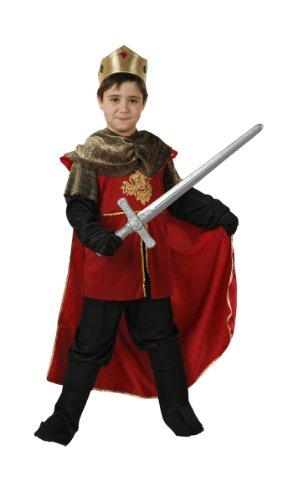 idung König Mittelalter Gr. 128 (Königreich Krieger Kostüm)