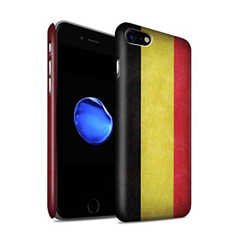 STUFF4 Matte Snap-On Hülle / Case für Apple iPhone X/10 / Australien/australisch Muster / Flagge Kollektion Belgien