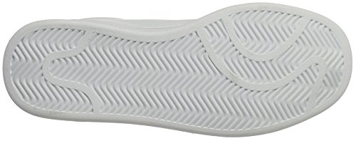 KangaROOS Woca, Basses mixte adulte Weiß (White/Steel Grey)