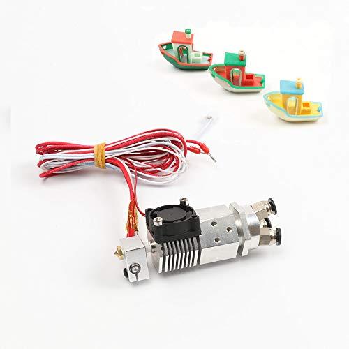 HE3D Impresora 3D partes 3 en 1 salida extrusor multicolor extremo caliente tres colores 12 V