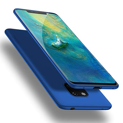 X-level Huawei Mate 20 Pro Hülle, [Guardian Serie] Huawei Mate 20 RS Hülle, Soft Flex Silikon Premium TPU Handyhülle Schutzhülle für Huawei Mate20 Pro / Mate20 RS Case Cover - Blau