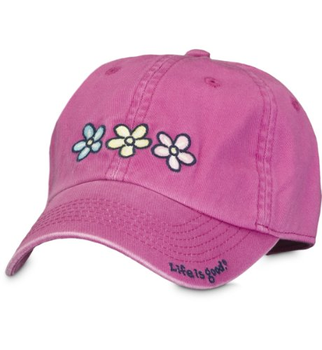Life is Good Damen Chill Cap, Fuchsia, One Size (Womens Life Is Good Hat)