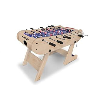 Riley Azteca Einklappbarer Fußballtisch, Buche, 121 cm