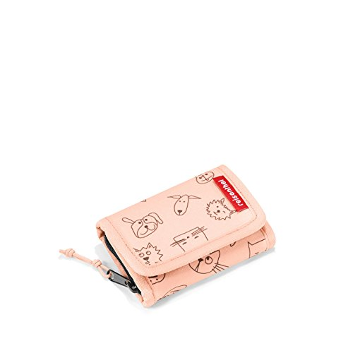 wallet S kids  11,5 x 7,5 x 2 cm cats and dogs rose