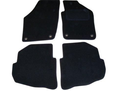 Sakura SS4701 Carpet Floor Mat, Black Trim