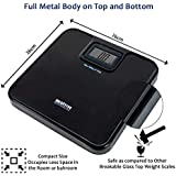MEDITIVE Digital Human Weighing Scale For Body Weight, Durable Unbreakable Metal Platform, Not Made Of Glass,...