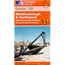 Middlesbrough and Hartlepool, Stockton-on-Tees and Redcar (Explorer Maps)