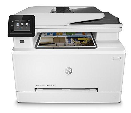 HP Color LaserJet Pro M281fdn Multifunktions-Farblaserdrucker (Drucken, scannen, kopieren, Faxen, LAN, Duplex, Airprint) weiß - Laser-farb-drucker Duplex Hp
