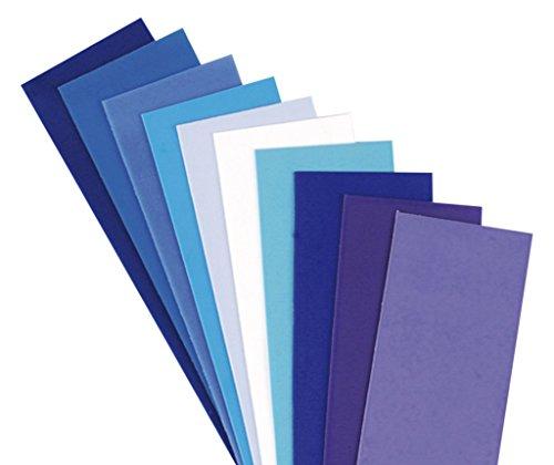 efco 3516115 Wachs, 20 x 5 x 0,05 cm, blau mischung (5 Wachs)