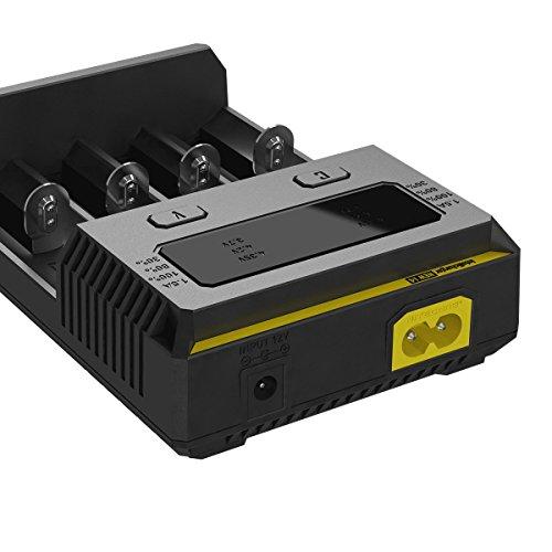 Preisvergleich Produktbild Nitecore Intellicharger NEW i4 4-Schacht Ladegerät