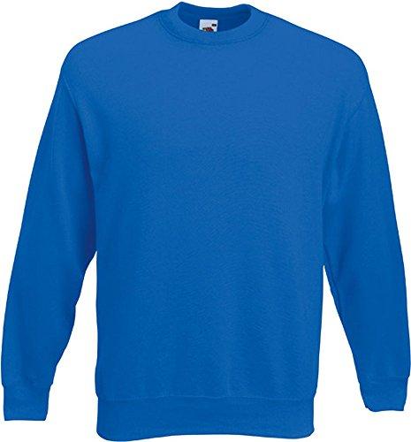 Fruit of the Loom - Set-In Sweatshirt - royalblau - Größe: XL