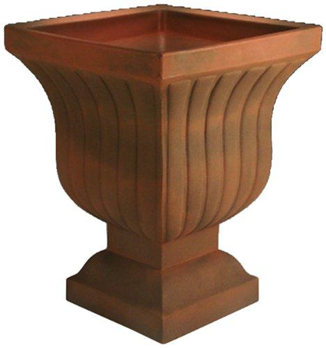 Pentole istantanea e Piante Ltd A695533 Leyla forma fioriera urna Rust