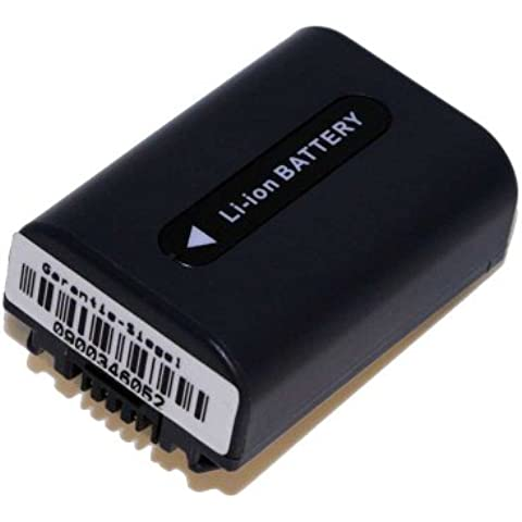 Batteria Li-Ion per Sony DCR-DVD106 (E), DCR-DVD109 (E), DCR-DVD110 (E), ecc sostituisce NP-FH40 NP-FH50 con INFO & CHIP
