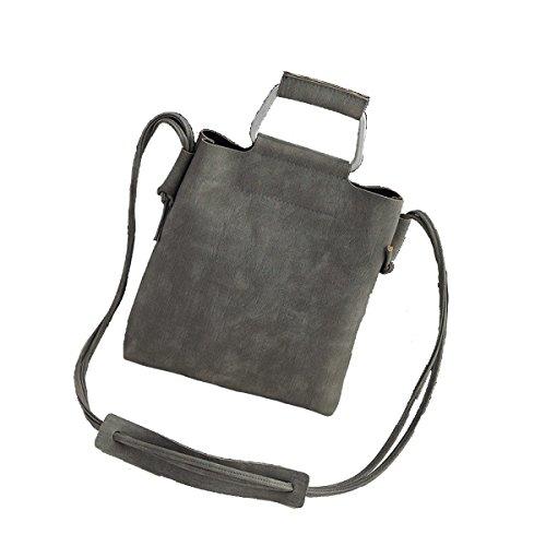 2pcs Signore Di Modo Casuale A Tracolla Multi-color Grey