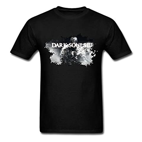 2016 Attractive Dark Souls III 3 Silhouette Homme's T-Shirts