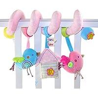 ACME Baby Spirale Plüschtiere Spielzeug Kleinkindspielzeug für Babyschale Kinderwagen HM15071006-2 preisvergleich bei kleinkindspielzeugpreise.eu