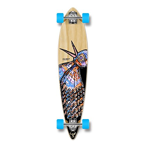 Yocellow The Bird Series Natural Longboard Komplett