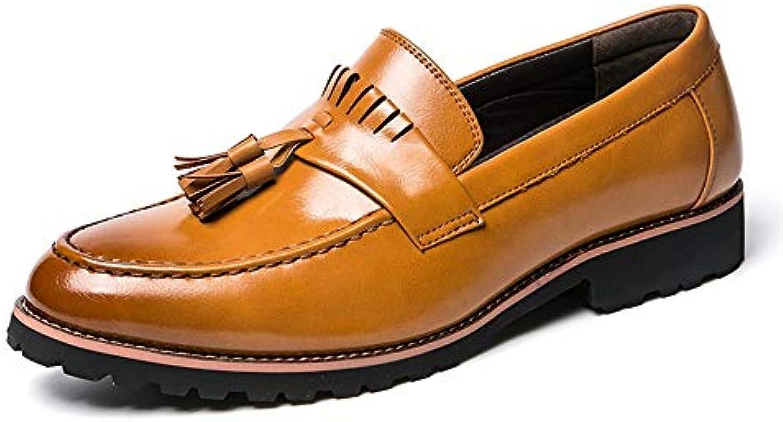 Xujw-scarpe, 2018 Scarpe Stringate Basse Scarpe Oxford Oxford Oxford da Uomo alla Moda, Scarpe Casual Casual con Suola in Nappa... | Regalo ideale per tutte le occasioni  | Uomo/Donne Scarpa  c12cb0