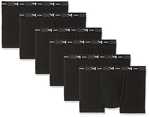 Dim Coton Stretch Boxer X6, Homme, Multicolore Noir 0hz, XX-Large (Taille Fabricant: 6) (Lot de 6)