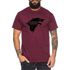 Coming Game Camiseta de Hombre Cool Thrones Shirt 6