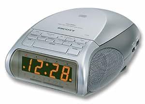 Scott CDX 300 Radio Réveils Lecteur CD