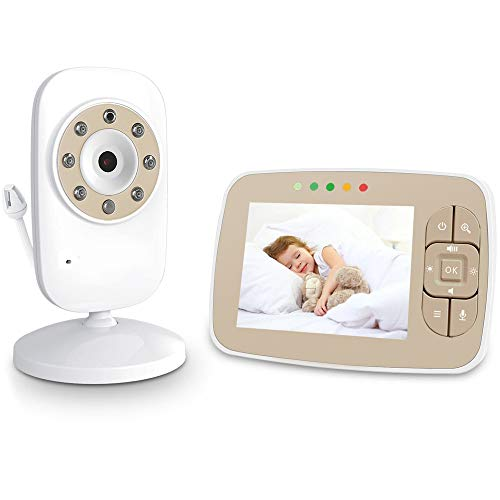 QUARK Baby Monitor, Camera Video Wireless Tenboo 3.2