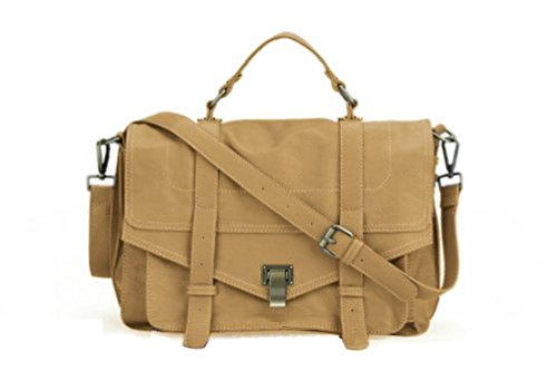 Gossip Girl Vintage X body Satchel Messenger Bag (Nude)