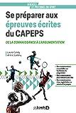 Se préparer aux épreuves écrites du CAPEPS : De la connaissance à l'argumentation