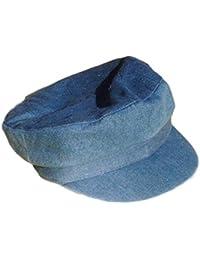 Excellent denim style Breton Cap - Size 58cm
