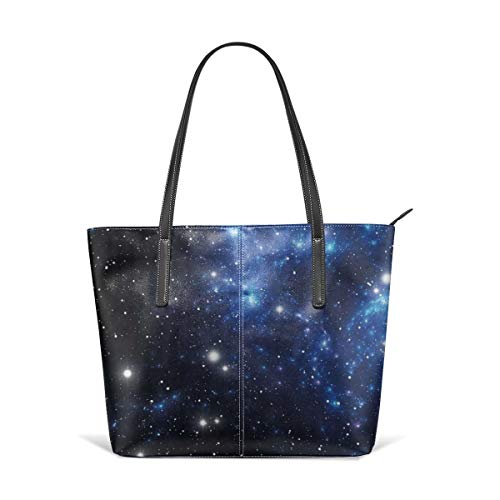 saibing Outer Space Star Nebula Astral Cluster Astronomy Theme Galaxy Mystery Fine Handbag Fashionable Design Waterproof, Large Capacity, Durable, Lightweight, Flexible, Suitable For Work, Travel.