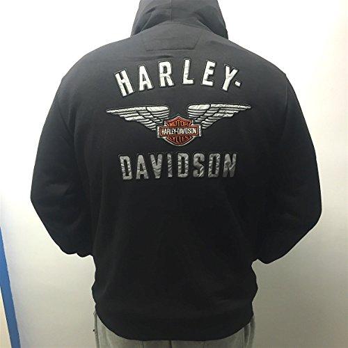 harley-davidson-sweat-a-capuche-zippe-officielle-harley-davidson-2016-gros-logo-hd-refelechissant-au
