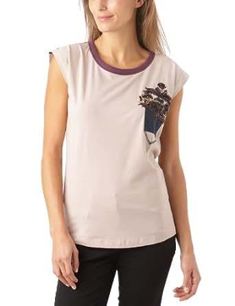 Gaspard Yurkievich - T-Shirt - À Logo - Jersey - Femme - Rose (Rose Poudre) - 36