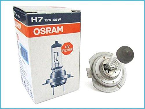 Lampe H7 12V 55W PX26d Original Osram UV-Filter 64210 für Autos Motorräder In Deutschland hergestellt