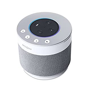 Swisstone Dotbox 1 Bluetooth-Lautsprecher (Akkubetrieb, 360° Surround Sound, Made for Echo Dot) weiß