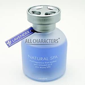 Car Mate CM2316 Lavender Air Freshener Natural Aqua Spa (65 ml)