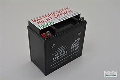 Batterie Gel Batterie passend 12V9Ah Schneefräse 5-7 PS