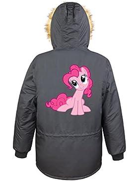 Pinkie Pony Parka Girls Nero Certified Freak
