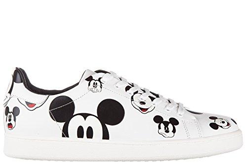Moa Master of Arts scarpe sneakers uomo in pelle nuove ation mickey mouse bianco EU 43 MD15M08I