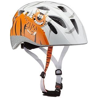 ALPINA Kinder Ximo Fahrradhelm, Little Tiger, 49-54 cm
