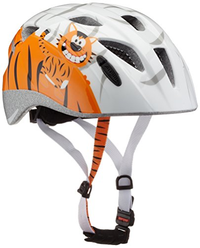 ALPINA Kinder Ximo Fahrradhelm, Little Tiger, 49-54 cm