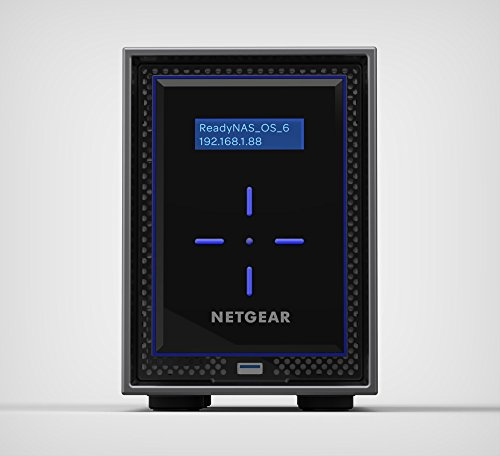 NETGEAR ReadyNAS 422 2-Bay 12 TB (2 x 6 TB) Enterprise HDD Network Attached Storage (RN422E6-100NES)