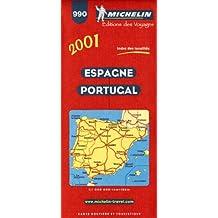 Carte routière : Espagne - Portugal, 990, 1/1000000